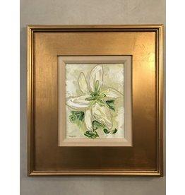 "Scott Ellis 8"" x 10""  White Lily Bloom"