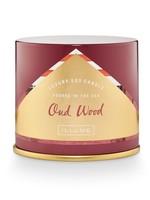 Illume Oud Wood Vanity Tin Candle