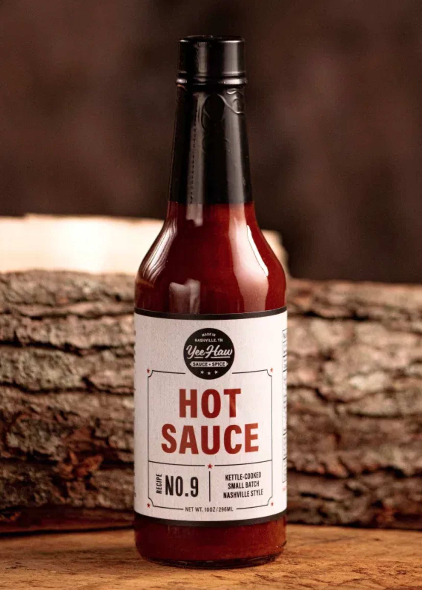 Yee Haw Sauce + Spice Red Hot Sauce - 10 oz