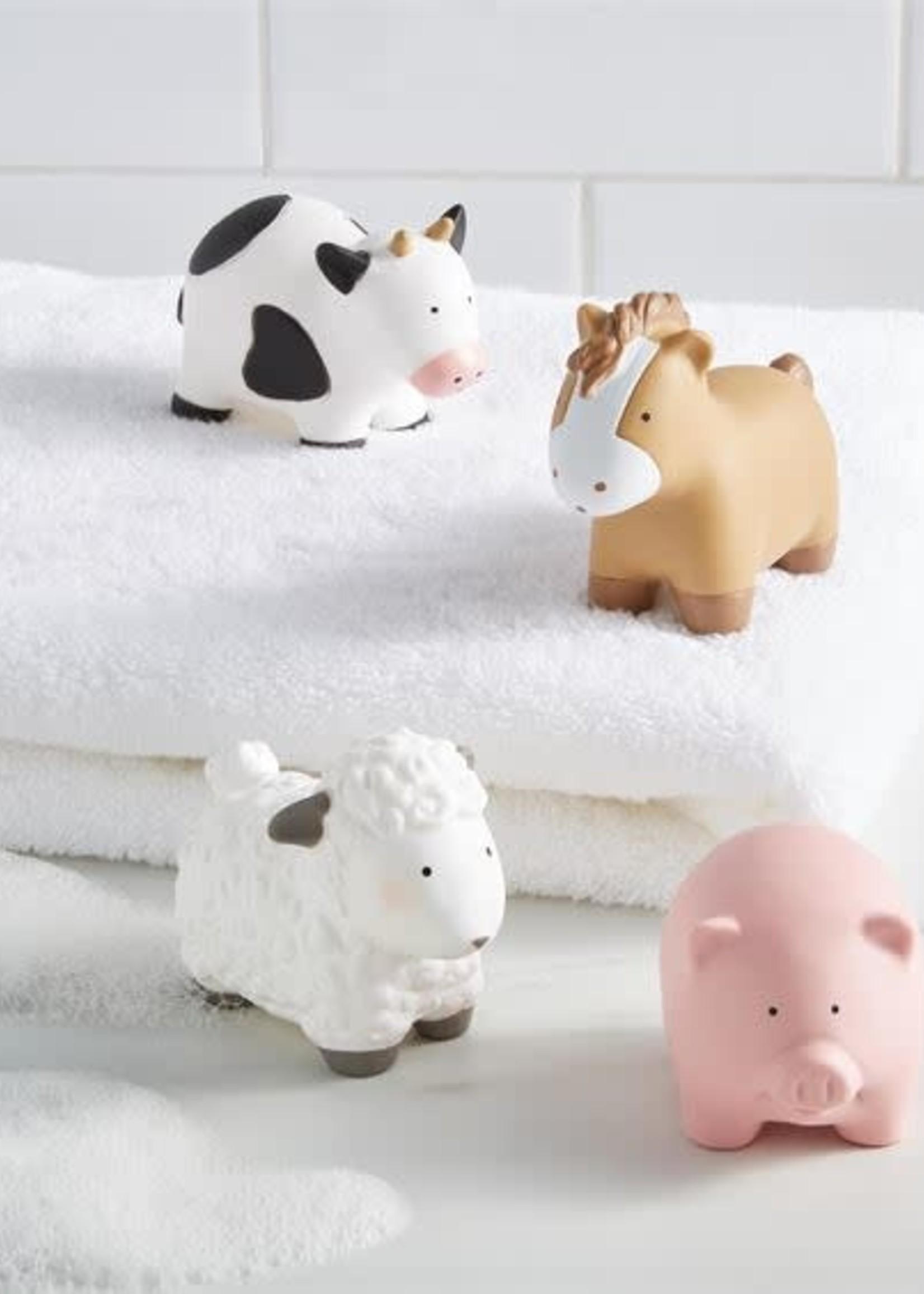 Mud Pie Farm Bath Toy Set