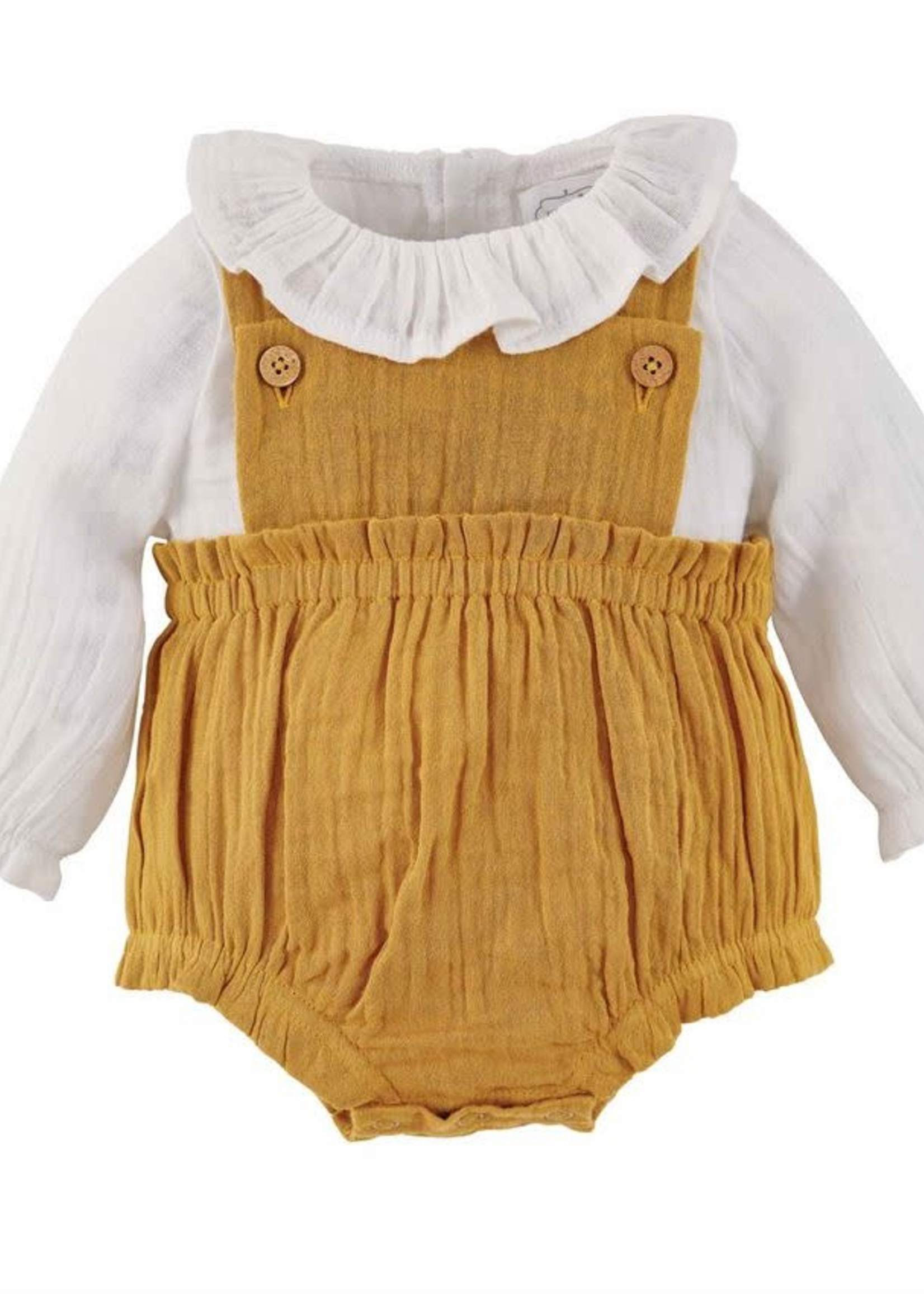 Mud Pie Fall Overall Set 6-9 months