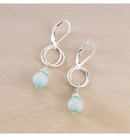 Freshie & Zero Audrey Earrings Jade SS