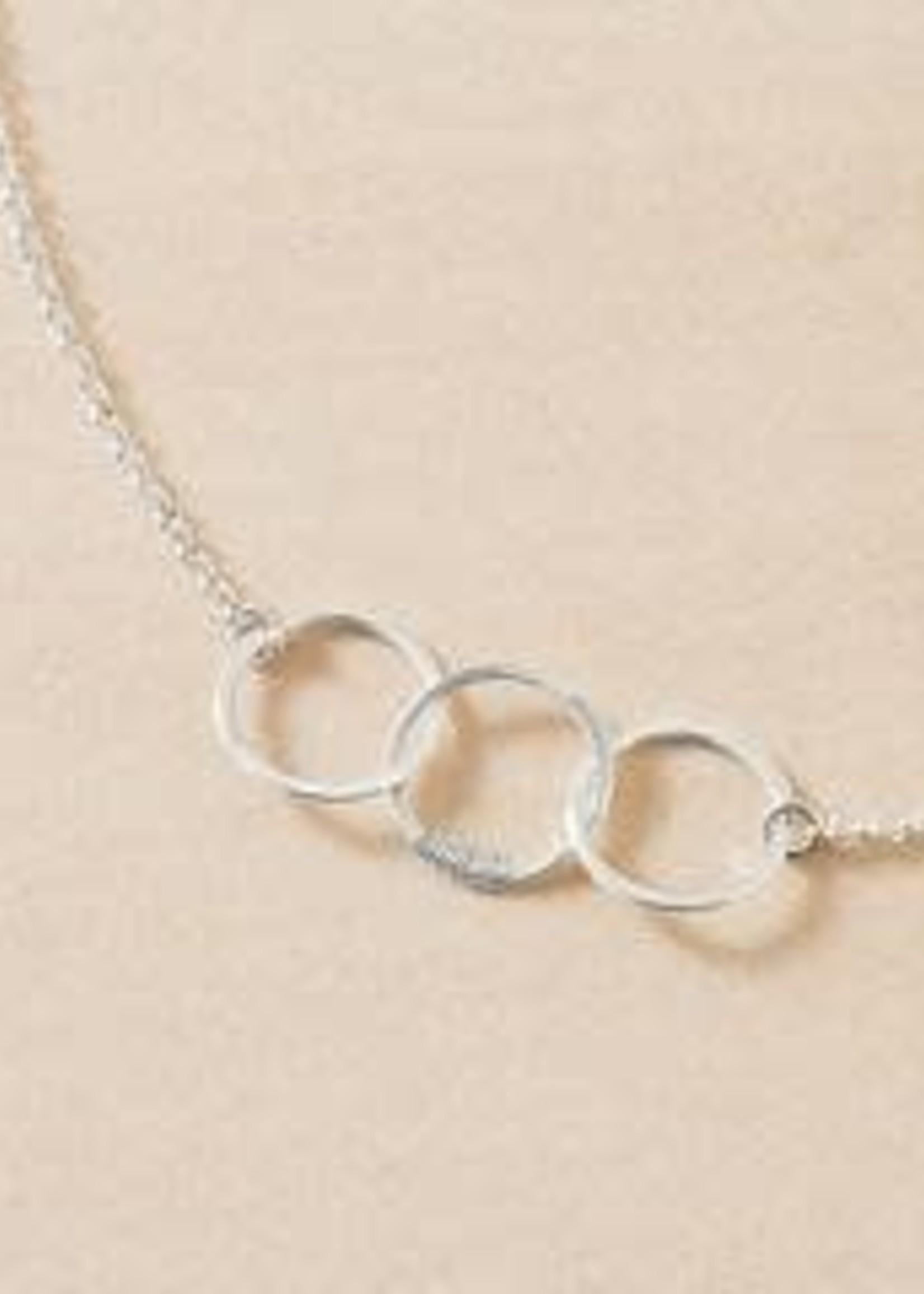 "Freshie & Zero Cartwheel Necklace SS 18"""