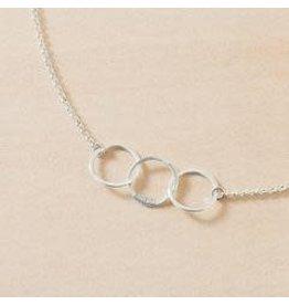 Freshie & Zero Cartwheel Necklace SS