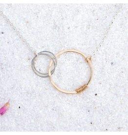 Freshie & Zero Love Necklace 2 Circles