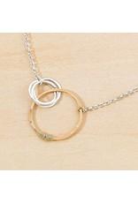 "Freshie & Zero Love Necklace 3 Circles SS 18"""