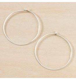 Freshie & Zero Minimal Large Circle Hoops SS