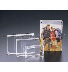 "3.5""x5 ""Magnetic Acrylic Frame"