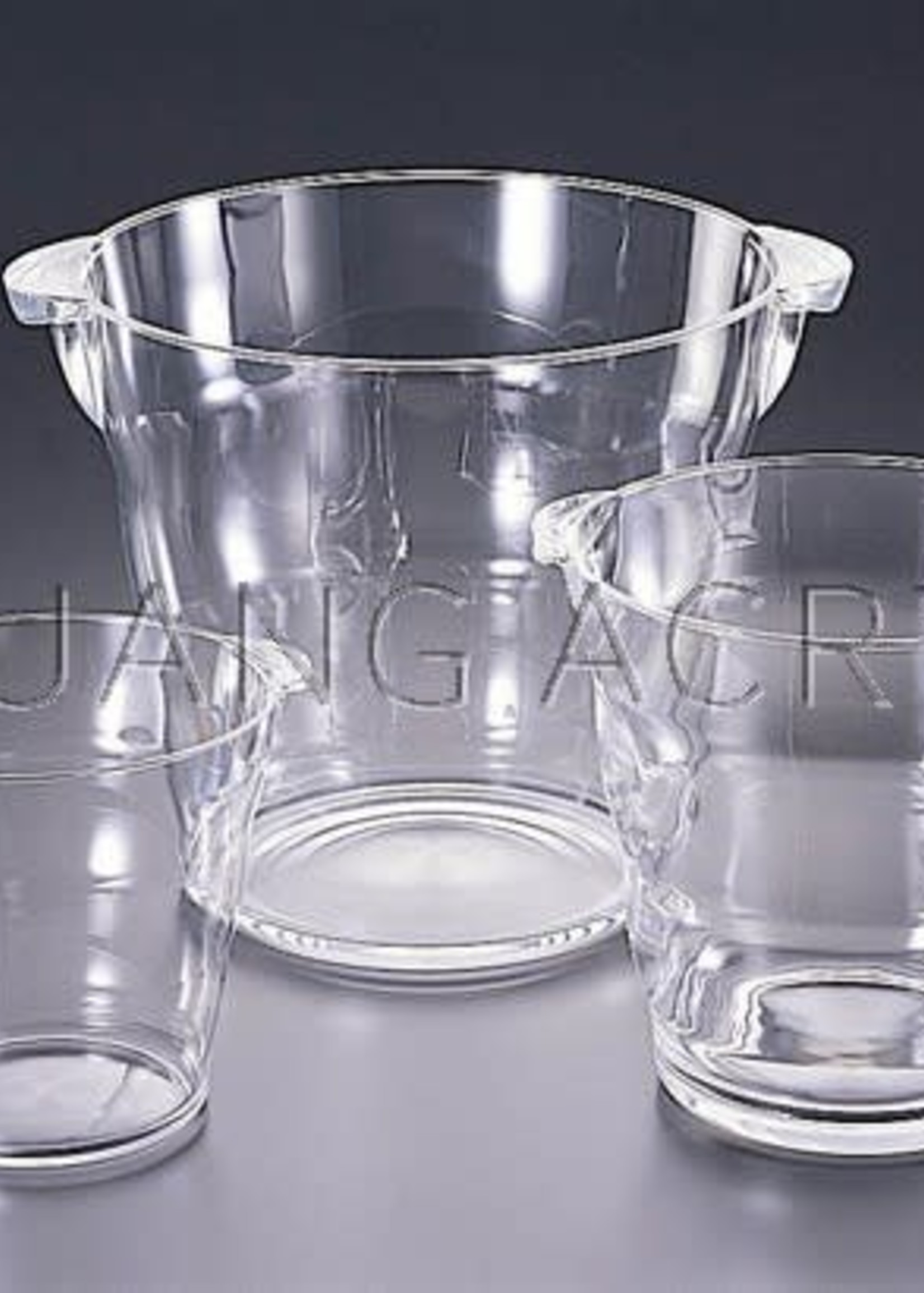 "Large Acrylic Bucket 8.25 QT ""Honeycomb"""