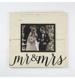 Mud Pie Mr. & Mrs. Deluxe Frame 8x10