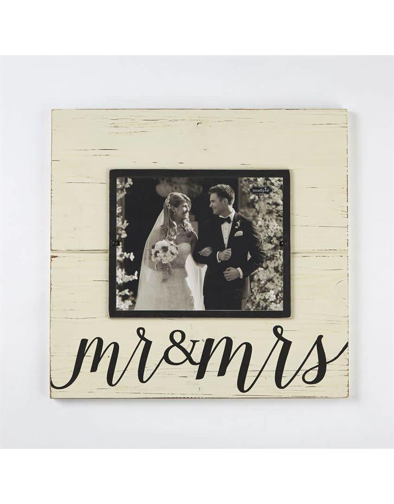 Mud Pie Mr. & Mrs. Deluxe Frame 8x10