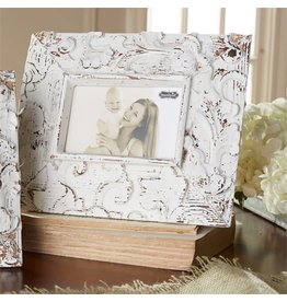 Mud Pie Rectangle Molded Antique Frame 3.5x5.5