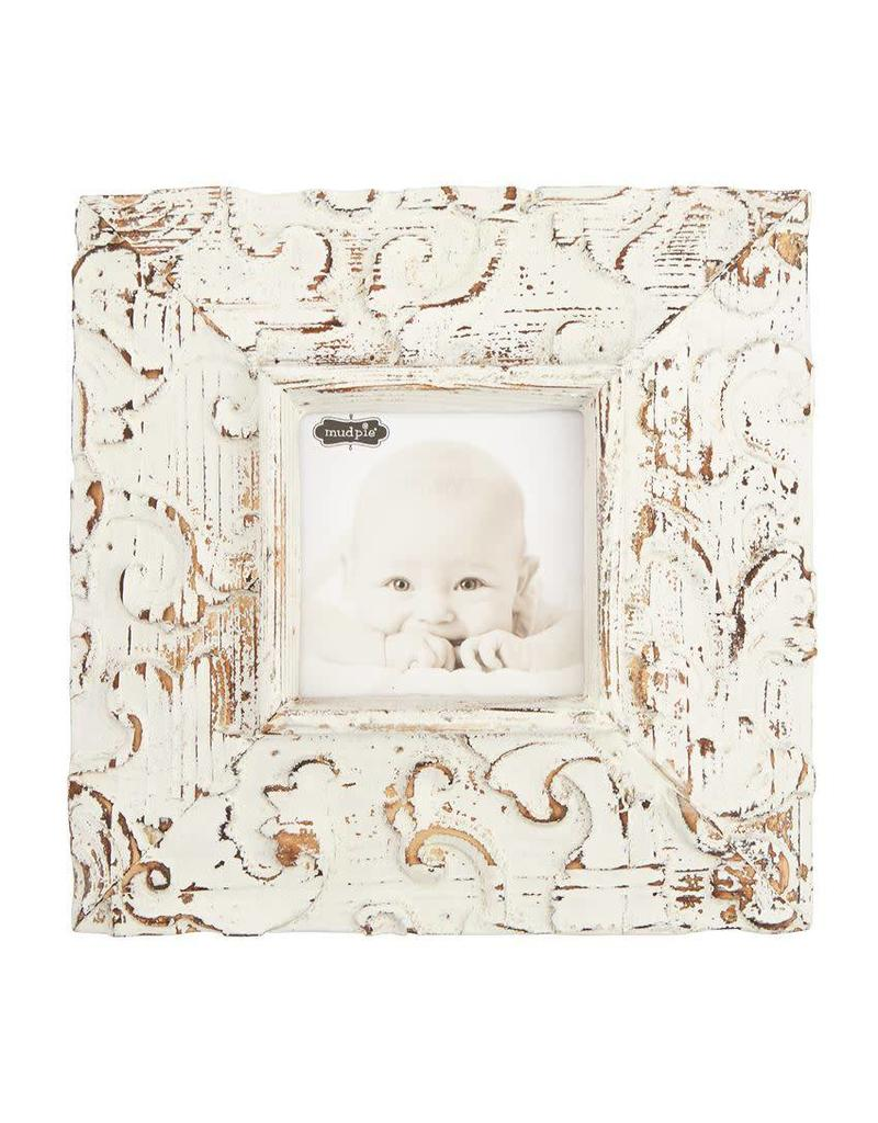 Mud Pie Small Molded Antique Frame 3.5x3.5