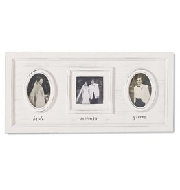Mud Pie Wedding Triple Frame