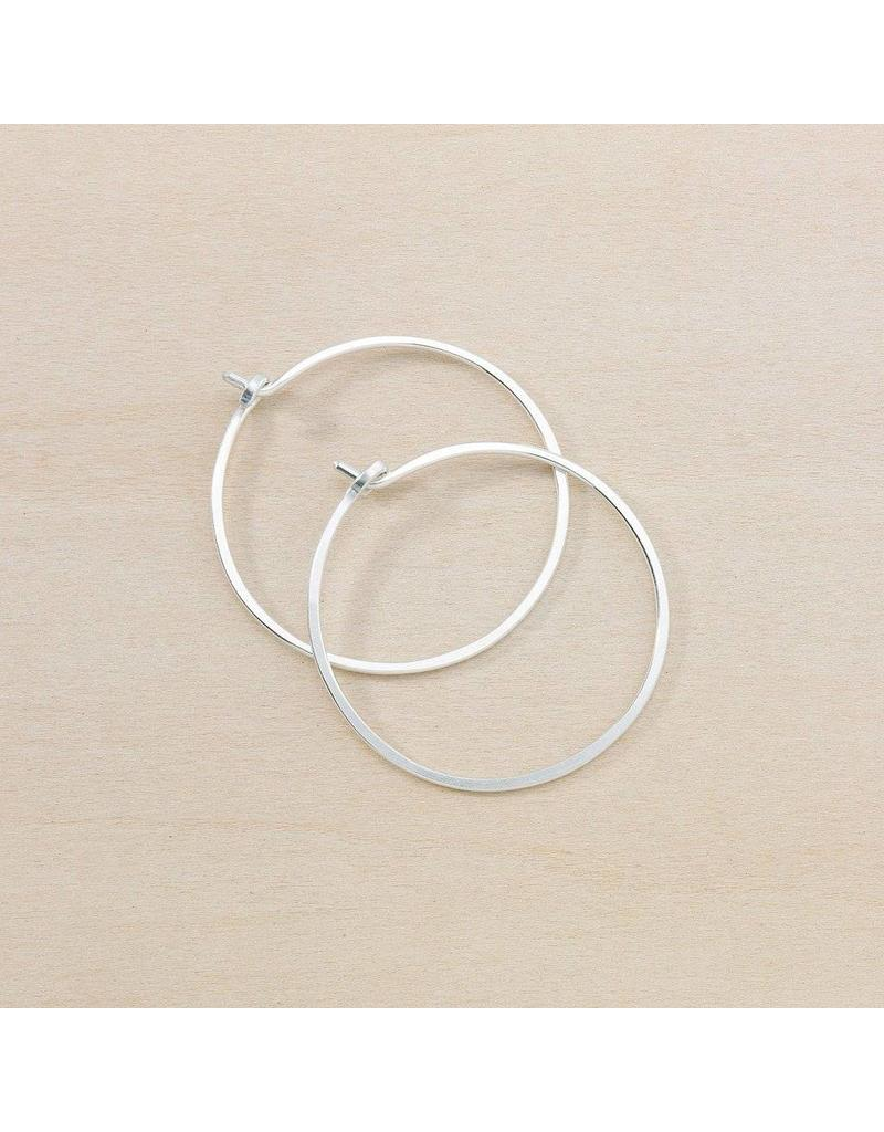Freshie & Zero Minimal Small Circle Hoops GF