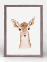 Greenbox Art 5x7 Mini Framed Canvas Fawn