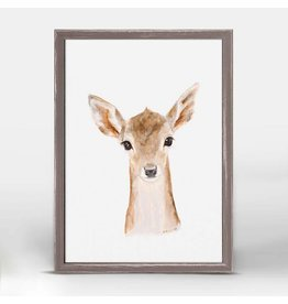 Greenbox Art 5x7 Mini Framed Canvas Fawn