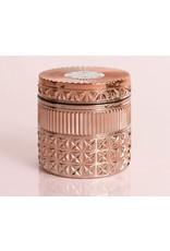 Capri Blue 11oz Rose Gold Faceted Jar Pink Grapefruit & Prosecco