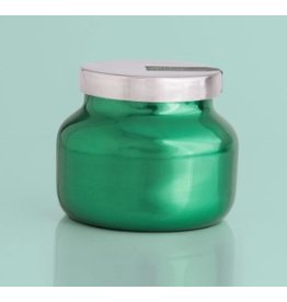 Capri Blue 8oz Green Metallic Petite Jar Volcano
