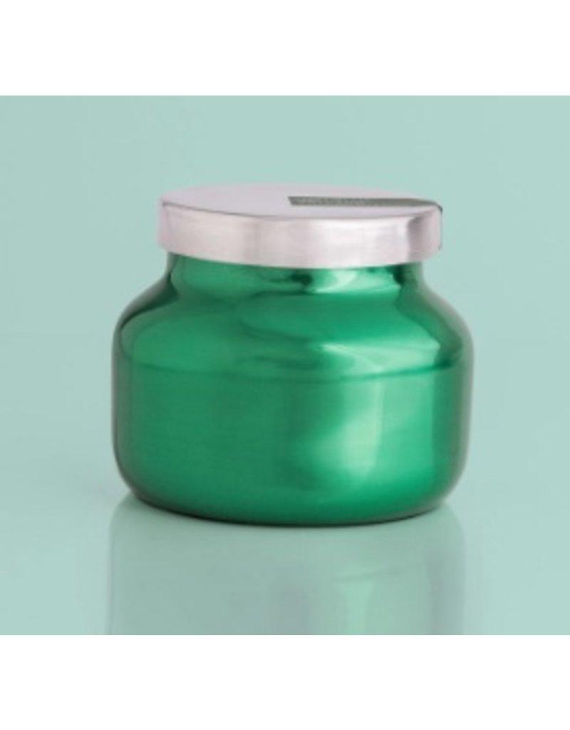 Capri Blue 8oz Green Metallic Petite Jar Volcano