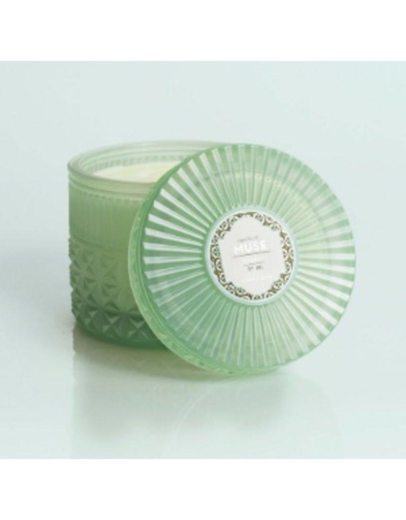 Capri Blue 11oz Mint Faceted Jar Volcano