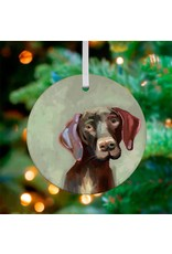 Greenbox Art German Shorthaired Pointer Ornament