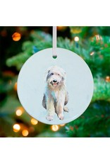 Greenbox Art English Sheep Dog Ornament