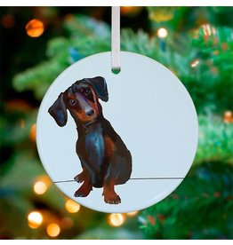 Greenbox Art Dachshund Ornament