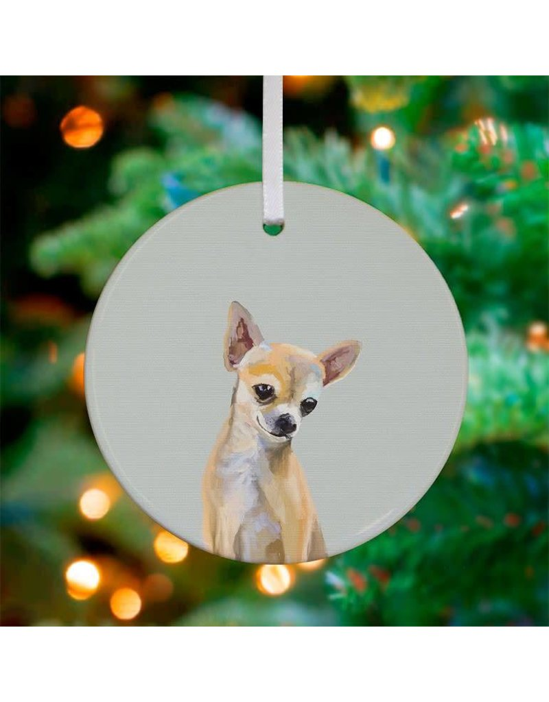 Greenbox Art Chihuahua Ornament