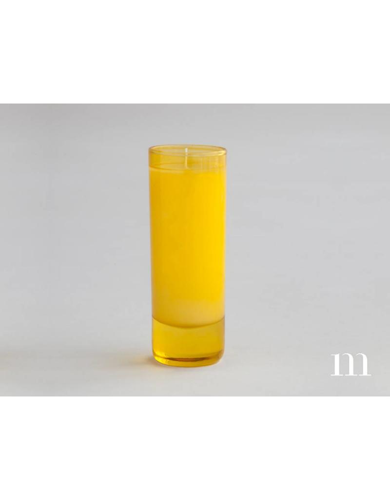 Mixture Candles 2oz Classic Votive, Yellow, Apple Crisp