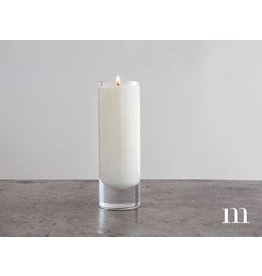 Mixture Candles 6oz Magnum Votive, Unscented, Clear