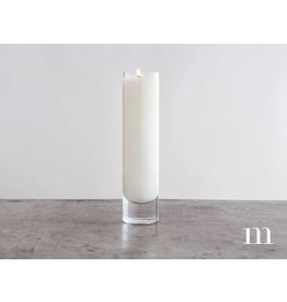 Mixture Candles 8oz Gunther Votive, Unscented, Clear