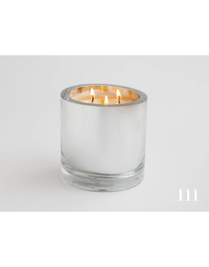Mixture Candles 3-Wick Mirror Cylinder, Siberian Fir