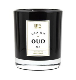 DW Home Candles Black Rose & Oud Large Double Wick