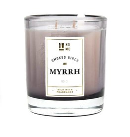DW Home Candles Smoked Birch & Myrrh Large Double Wick