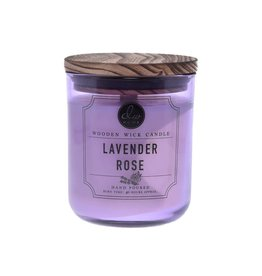 DW Home Candles Lavender Rose Wooden Wick