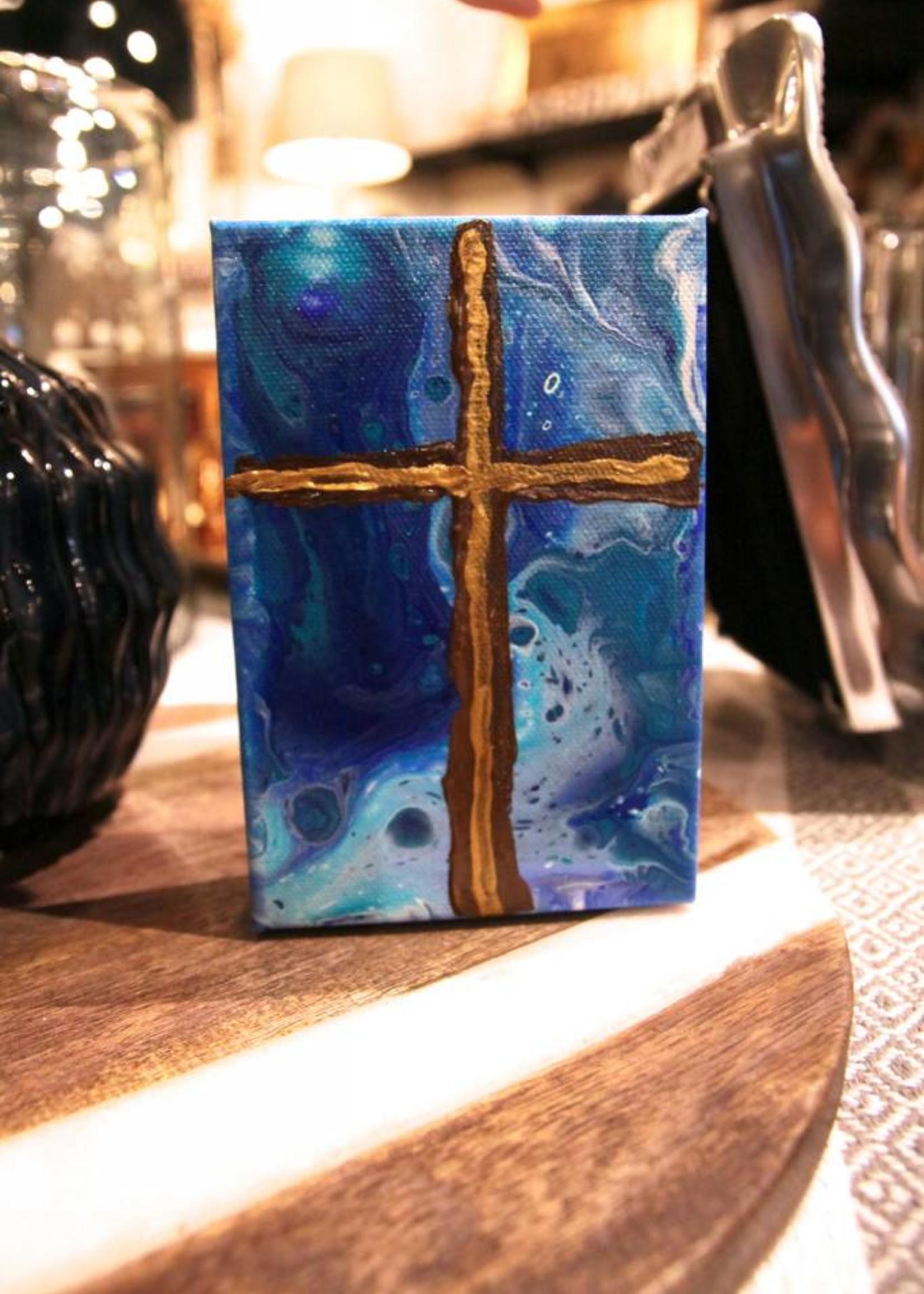 Scott Ellis 5x7 Cross Painting