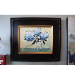 Scott Ellis Framed Blue Hydrangeas 11x14