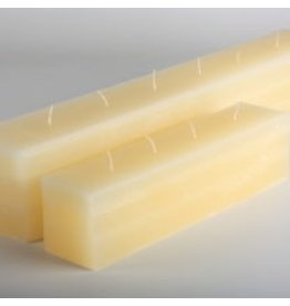 Vance Kitira Candles Layered Brick Candle 12x2.75x3, 4 wicks