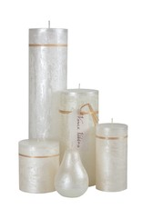 Vance Kitira Candles Ritz Timber Pillar