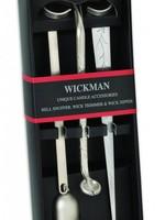 Wickman Multi Pack 3 Piece, Trimmer, Snuffer, Dipper