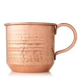 Thymes Copper Mug Candle Simmered Cider
