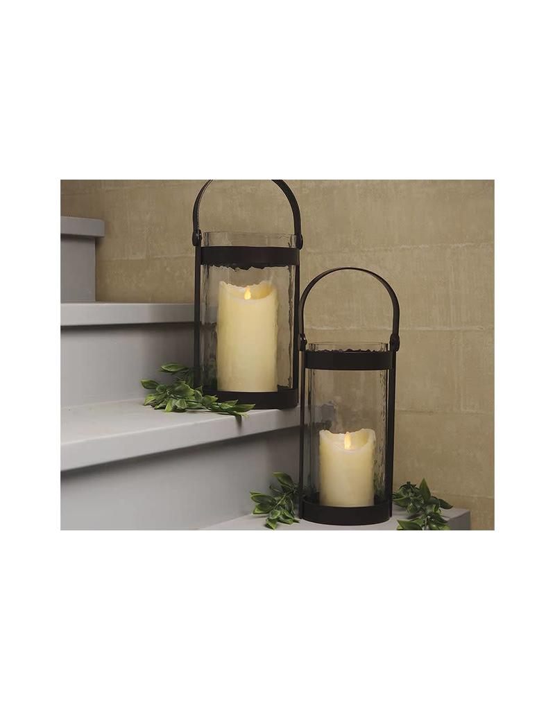 LuxuryLite 3x6 Wax LED Pillar Candle Ivory