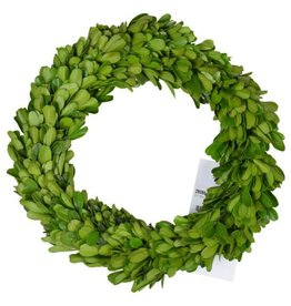 "A&B Home 7.5"" Preserved Boxwood Candle Ring"
