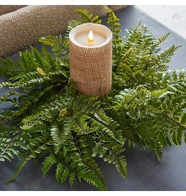"20"" Fern Candle Ring"