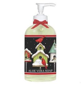 Winter Birdhouse Balsam Liquid Soap
