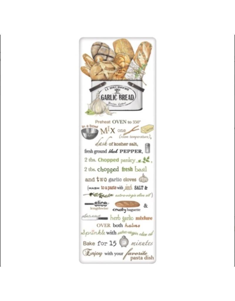 Mary Lake-Thompson Bread Tin Garlic Bread Recipe Towel