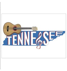 Tennessee Outline Bagged Towel