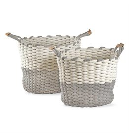 Tag Ltd Chunky Knit Cord Basket Large