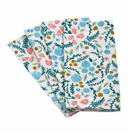 Tag Ltd Multi Garden Blossom Napkin S/4